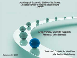Long Memory in Stock Returns: Research over Markets