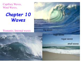 Chapter 10  Waves