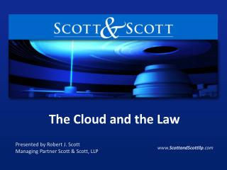 The Cloud and the Law