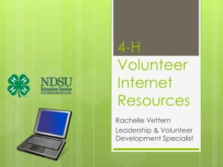 4-H Volunteer Internet Resources