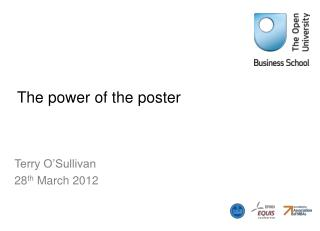 The power of the poster