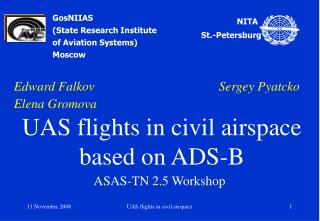 GosNIIAS (State Research Institute of Aviation Systems) Moscow