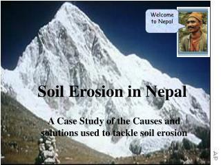 Soil Erosion in Nepal