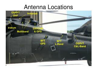 Antenna Locations