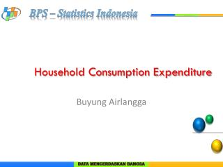 Household Consumption Expenditure
