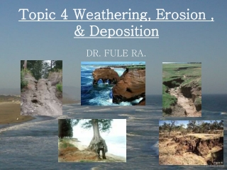 Erosion  AS Geography