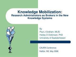 Knowledge Mobilization: Research Administrators as Brokers in the New Knowledge Systems