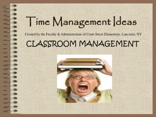 Time Management Ideas