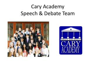 Cary Academy Speech & Debate Team