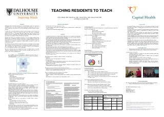 TEACHING RESIDENTS TO TEACH