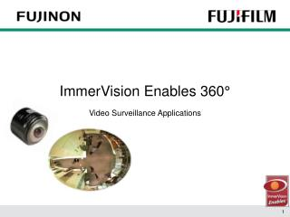 ImmerVision Enables 360°