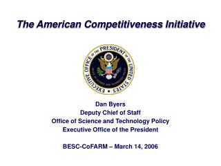 The American Competitiveness Initiative