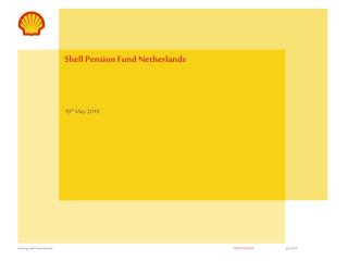 Shell Pension Fund Netherlands
