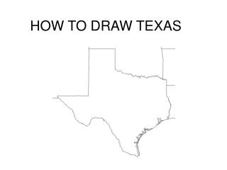 HOW TO DRAW TEXAS