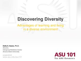 Discovering Diversity