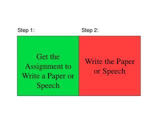 Step 1:Step 2: