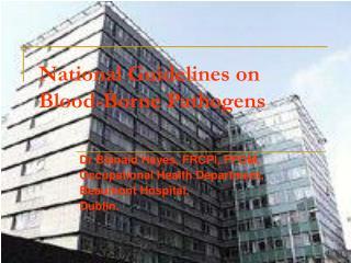 National Guidelines on Blood-Borne Pathogens
