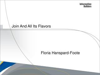 Join And All Its Flavors