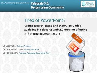 Tired of PowerPoint?