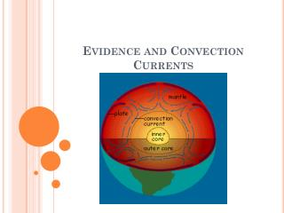 Evidence and Convection Currents