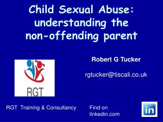 Child Sexual Abuse: understanding the  non-offending parent