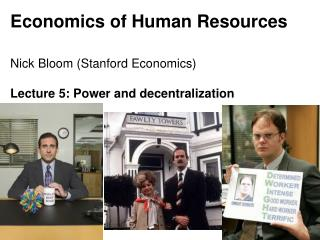Economics of Human Resources