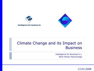 Climate Change and its Impact on Business