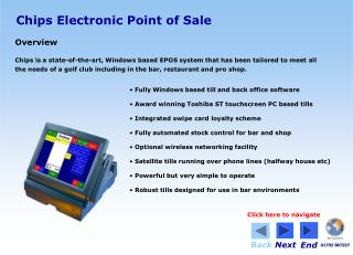 Chips Electronic Point of Sale