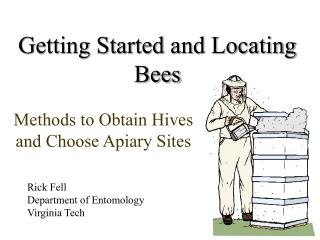 Getting Started and Locating Bees