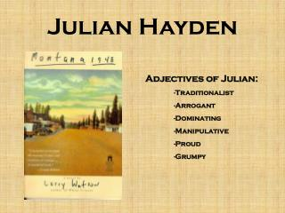 Julian Hayden
