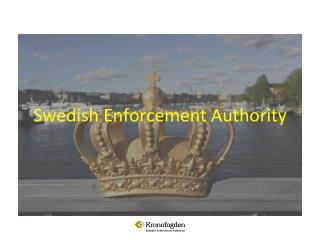 Swedish Enforcement Authority