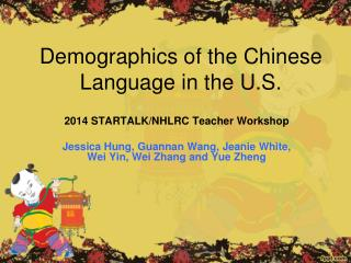 Demographics of the Chinese Language in the U.S.