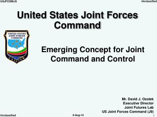 Emerging Concept for Joint Command and Control