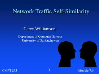 Network Traffic Self-Similarity