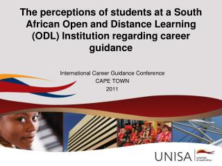 International Career Guidance Conference CAPE TOWN 2011