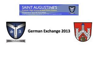 German Exchange 2013