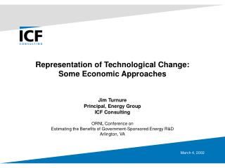 Representation of Technological Change: Some Economic Approaches