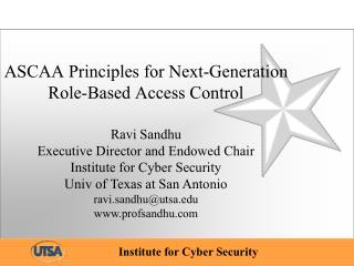 ASCAA Principles for Next-Generation Role-Based Access Control