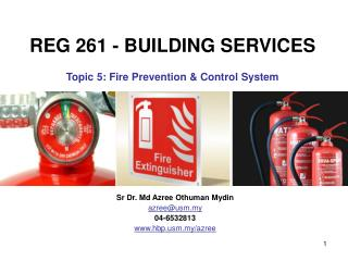Fire Prevention and Control System