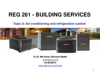 Refrigeration and air conditioning system