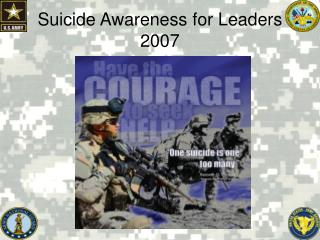 Suicide Awareness for Leaders 2007