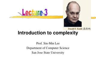 Introduction to complexity