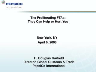 The Proliferating FTAs: They Can Help or Hurt You