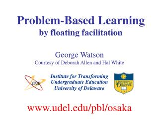Problem-Based Learning by floating facilitation