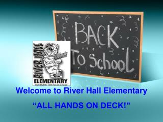 Welcome to River Hall Elementary