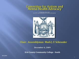 Committee for Autism and  Mental Health Advocacy