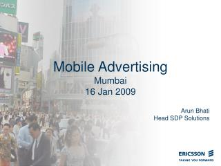Mobile Advertising Mumbai 16 Jan 2009