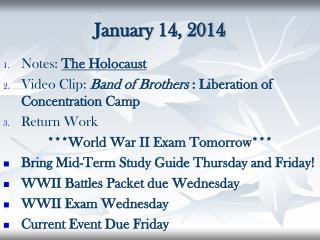 January 14, 2014