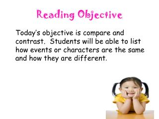 Reading Objective