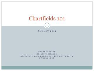 Chartfields 101